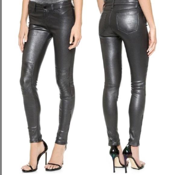 896446d444 J Brand Jeans | Nicola Moto Skinny Leather Pants | Poshmark